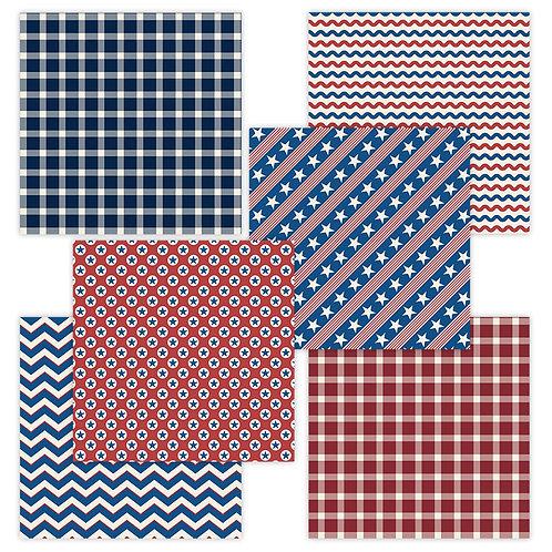 USA 6 x 6 Fun Sheets