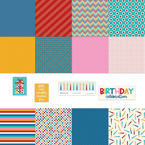 Birthday Party 4x4 Fun Sheets