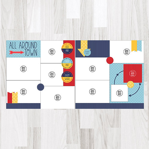 All Around Town-Perfect Pages