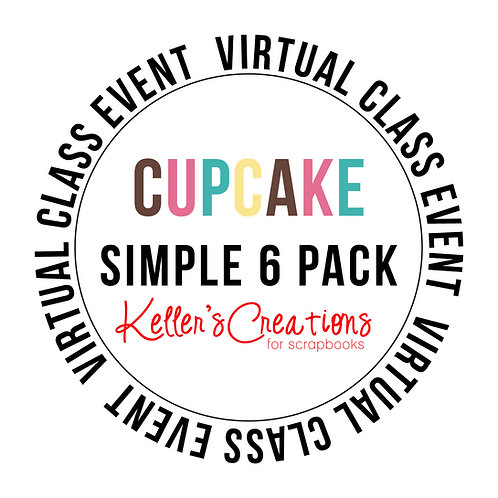Cupcake Simple 6  Pack Class Box