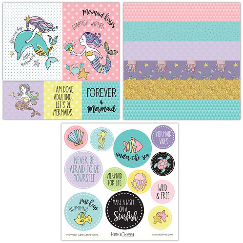 Mermaid Card Connections
