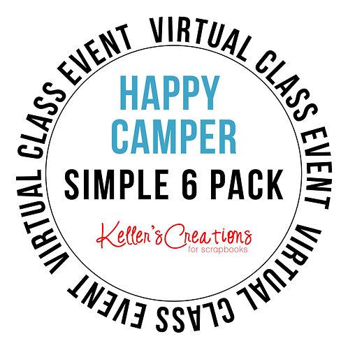 Happy Camper Simple 6 Pack Class Box