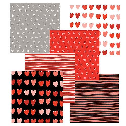 Love You Lots 6 x 6 Fun Sheets