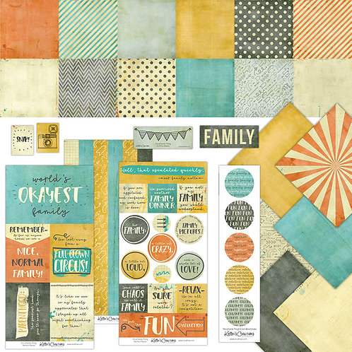 It's a Family Thing Scrap Bundle