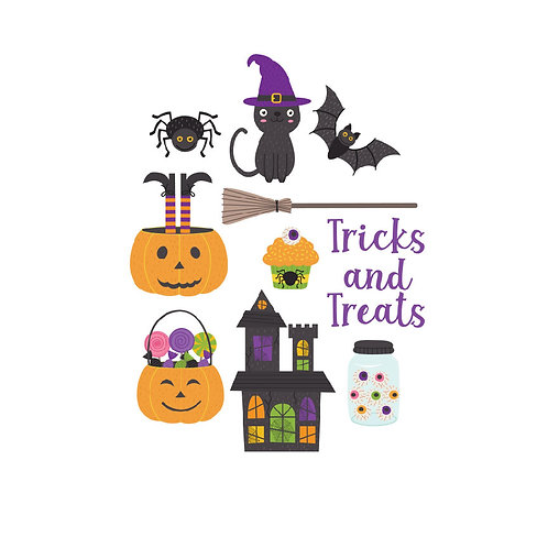 Tricks and Treats Die Cuts