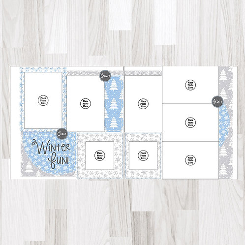 Winter Fun-Perfect Pages