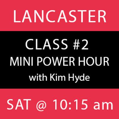 Class #2: Lancaster