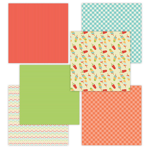 Summer Fun 6 x 6 Fun Sheets