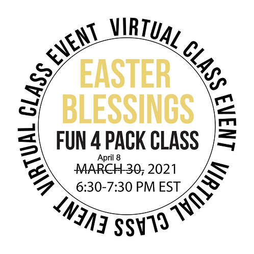 Easter Blessings Fun 4 Pack Class Box