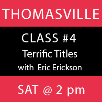 Class #4—Thomasville