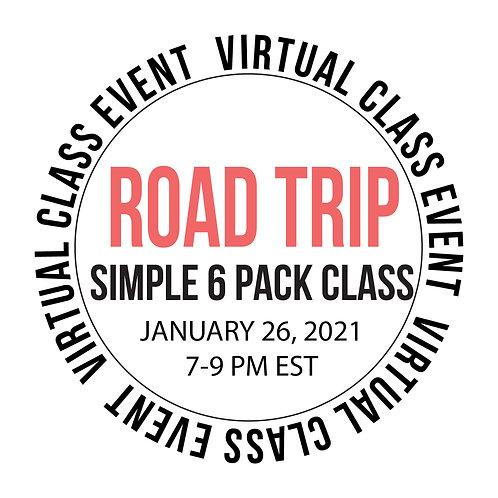 Road Trip Simple 6  Pack Class Box