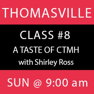 Class #8: Thomasville
