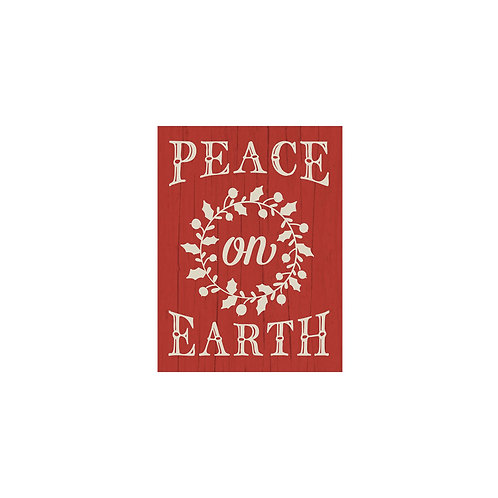 Peace on Earth Flash Card