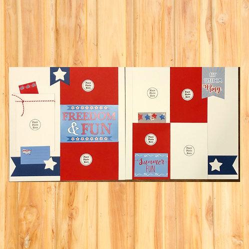 Freedom & Fun Page Kit