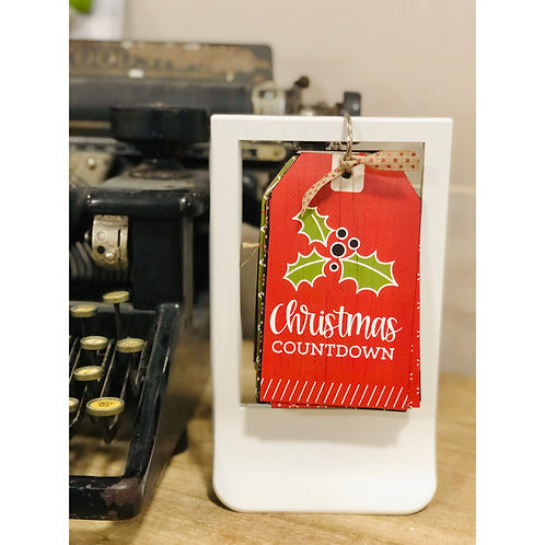 Christmas Countdown Flip Frame Kit