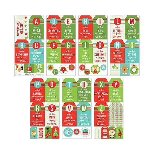 Christmas-ABC Tags