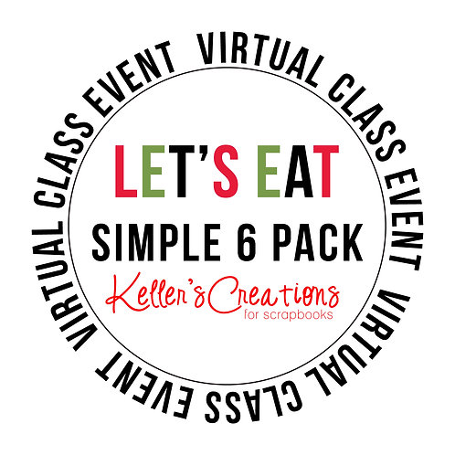 Let's Eat Simple 6  Pack Class Box