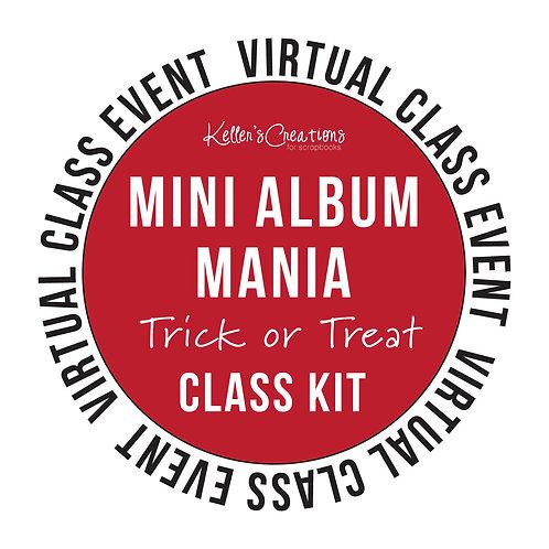 Mini Album Mania: Trick or Treat Class Kit