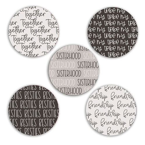 Best Friends 2-inch Circles