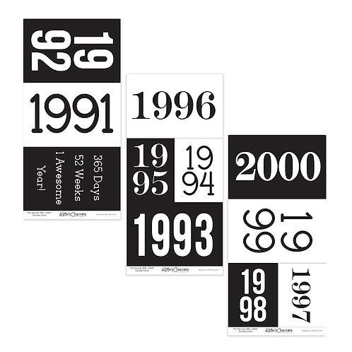 1991-2000 Decade Cards