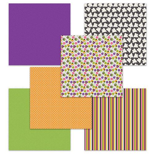 Tricks and Treats 6 x 6 Fun Sheets