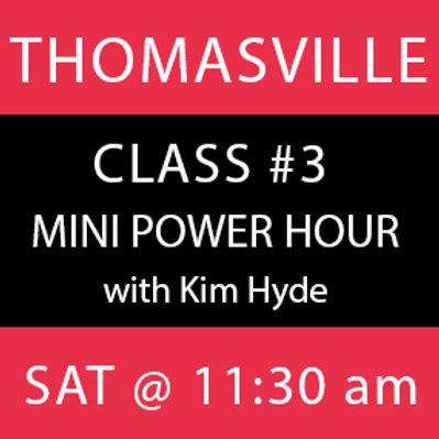 Class #3: Thomasville