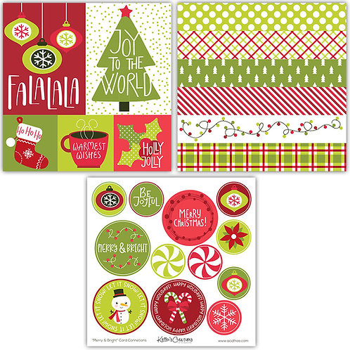 Merry & Bright Card Connections