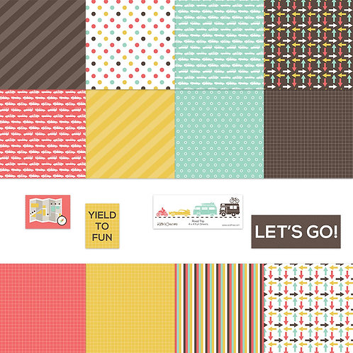 Road Trip 4x4 Fun Sheets