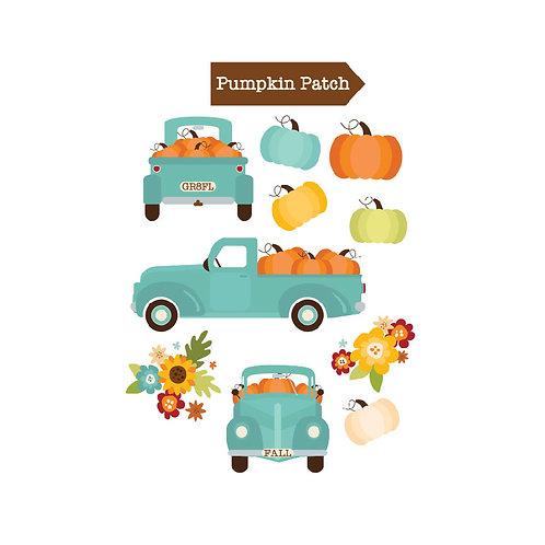 Pumpkin Patch Die Cuts