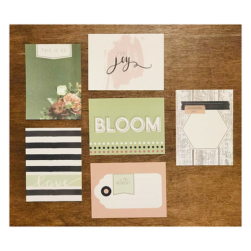 French Garden Flash Card Pack
