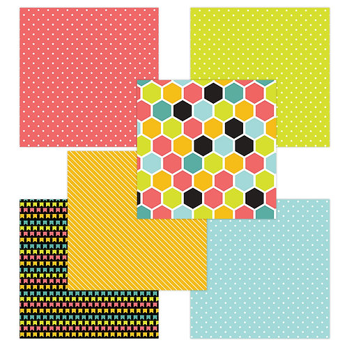Way to Go 6 x 6 Fun Sheets
