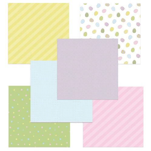 Springtime 6 x 6 Fun Sheets