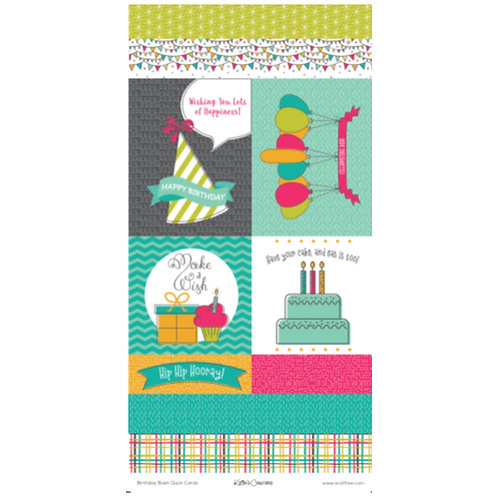 Birthday Bash Quick Cards