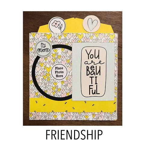 Friendship Pocket Accordion Book Kit