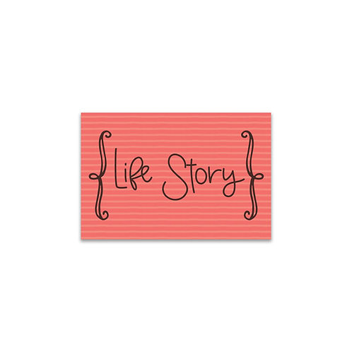 Life Story Flash Card