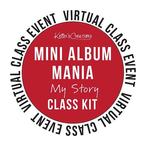 Mini Album Mania: My Story Class Kit