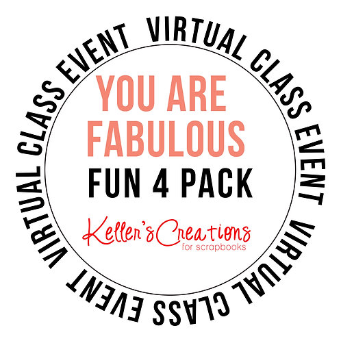 You are Fabulous 4 Pack Class Box