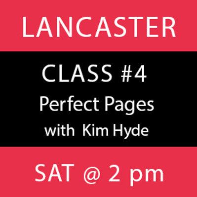 Class # 4-Lancaster