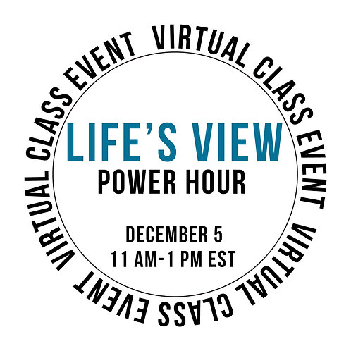 Life's View Power Hour Class Box