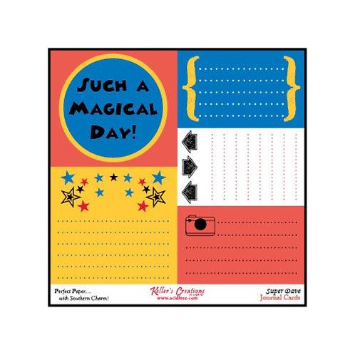 Super Dave Journal Cards