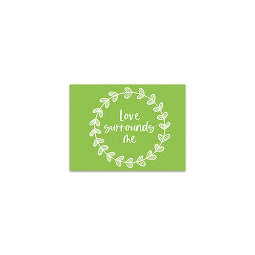 Love Surrounds Me Flash Card