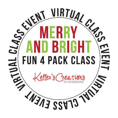Merry and Bright Fun 4 Pack Class Box