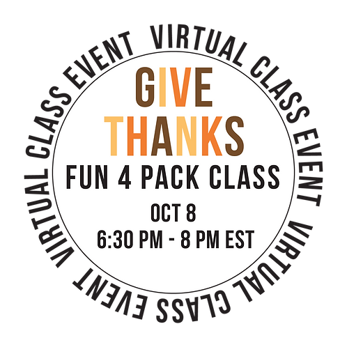 Give Thanks Fun 4 Pack Class Box
