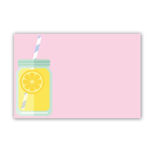 Lemonade - 4x6 Simple Note