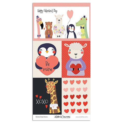 Valentine Simple Starters