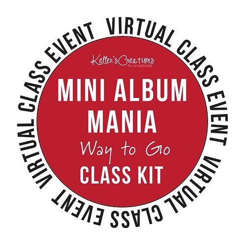 Mini Album Mania: Way to Go Class Kit