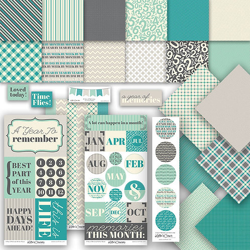 A Year of Memories Scrap Bundle