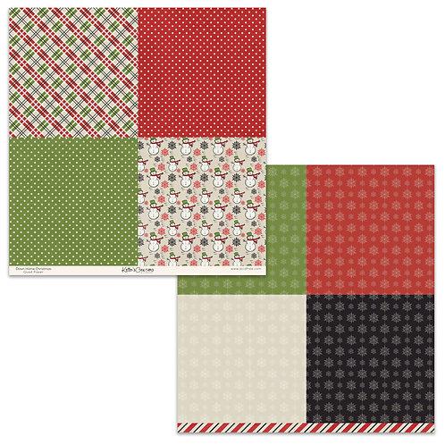 Down Home Christmas 12x12 Print Paper