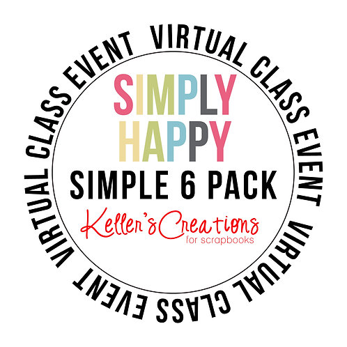 Simply Happy Simple 6  Pack Class Box
