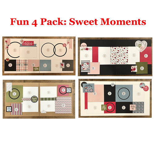 Fun 4 Pack: Sweet Moments